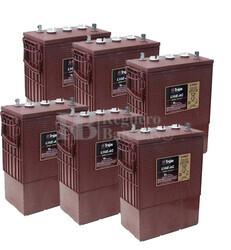 Kit 36 voltios para fregadoras y barredoras industriales