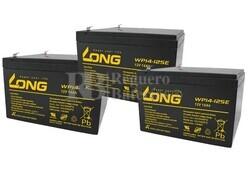 Kit baterías para Patín Roan 1000W 36V R6,5 12V 14A