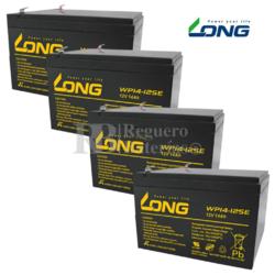 Kit baterías 48 Voltios 14 Amperios para Patín IMR 1000W