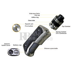 kit Aspire Feedlink Revvo Silver