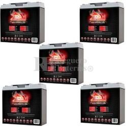 Kit Baterías 12 Voltios 20 Amperios Fullriver T230