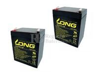 Baterías Patinete Razor E125 24 Voltios 5 Amperios