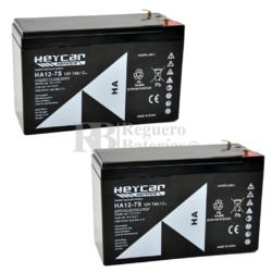Kit baterías 24 Voltios 7 Amperios para Vehículos Eléctricos