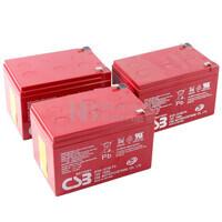 Baterías Patinete Raycool Carbon Black 36 Voltios 15 Amperios AGM