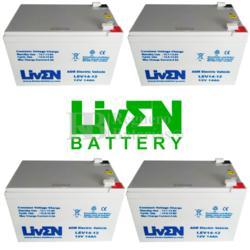 kit Baterías 48 Voltios 14 Amperios Movilidad LEV14-12