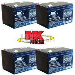 Kit baterías MK Patín Ovex 48V 14A