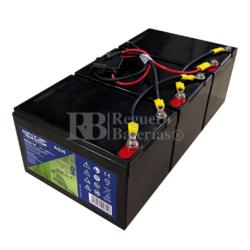 kit Baterías Patín 36 Voltios 14 Amperios con cables