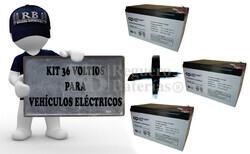 Kit de Baterías 36 Voltios 12 Amperios Movilidad