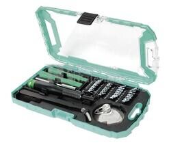 Kit herramientas para reparación de teléfonos y consolas 32 piezas