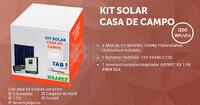 Kit Solar Fotovoltaico 1200WH/Dia