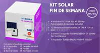 Kit Solar Fotovoltaico 2000WH/Dia