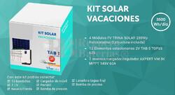 Kit Solar Fotovoltaico 3500WH/Dia