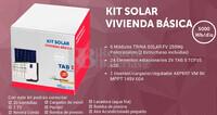 Kit Solar Fotovoltaico 5000WH/Dia