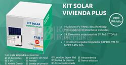 Kit Solar Fotovoltaico 7000WH/Dia
