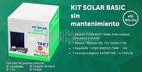 Kit Solar Fotovoltaico Basico 600WH/Dia (Sin Mantenimiento)
