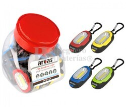 Linterna Barra LED de bolsillo, 4 colores Bote 24 unds