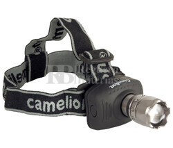 Linterna de cabeza 1 LED con Zoom