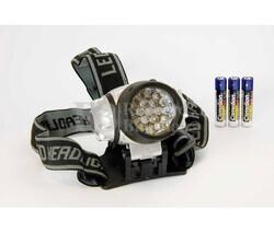 Linterna de cabeza 19 LED