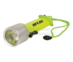 Linterna LED para buceo sumergible hasta 15m 3W