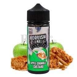 Liquido Moreish As Flawless Custards Apple Crumble 100ml