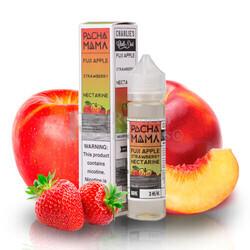 Liquido Pachamama Fuji Apple Strawberry Nectarine 00MG 50ml