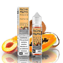 Liquido Pachamama Peach Papaya Coconut Cream 50ml