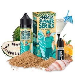 Liquido Summer Series - Hawaii Soursop Orange 50ml + Cooling Booster de Ossem Juice