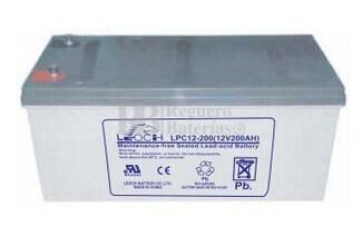 LPC12-200 Bateria de Plomo AGM 12 Voltios 200 Amperios 522x240x218mm