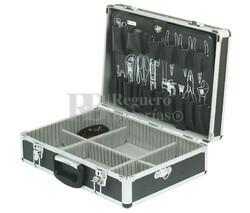 Maleta de herramientas en aluminio robusta