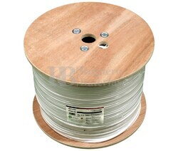 Manguera para alarma y portero 6+2 cables LSZH y CPR 500m