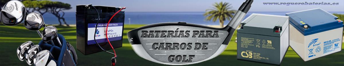 Baterias para carritos de golf electricos.