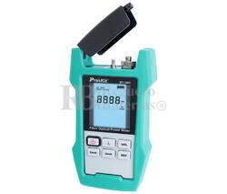 Medidor de potencia de fibra óptica Proskt MT-7603