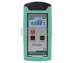 Medidor de potencia fibra óptica Proskit MT-7601