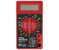 Multímetro Digital 3 1/2 Digitos CAT.II 600V Nimo MUL023