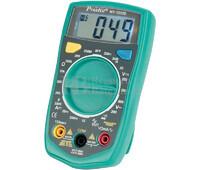 Multímetro Digital 3 1/2 Digitos Test de Alta Resistencia Proskit MT-1233D