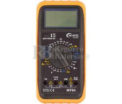 Multímetro Digital de Alta Prestación Nimo MY-64