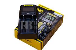 Nitecore UMS2 cargador baterías Litio, LiFePO4, Ni-MH,CD