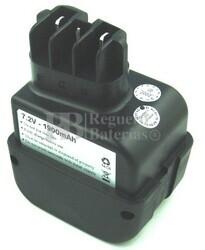 Bateria para Metabo BE AT 7.2/2 R+L 6.30069-1,4Ah, 6.31677-1,7Ah 1.900MAH