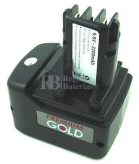 Bateria para Metabo BS 9,6-Impuls ULA9,6-18