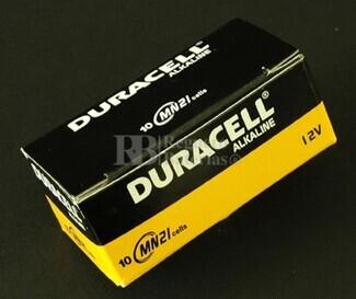 Pila de 12 Voltios Duracell MN-21STD 23a Especial mandos (Caja de 10 Unidades)