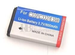 Bateria para MOTOROLA C330 C331 C332 C336 E398 ROKR E1