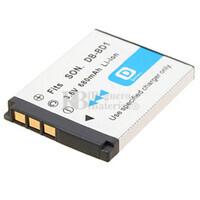 Batería NP-FD1,NP-BD1 compatible para cámaras Sony CYBER-SHOT DSC-T900R