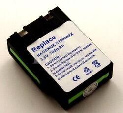 Bateria para HAGENUK ST9000PX Ascom Funk Hitachi HT-A100...