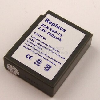 Bateria para SONY SPP-75 SPP-77 SPP-95 SPP-97 SPP-115 SPP-120...