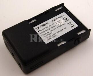 Bateria para MOTOROLA GP63 GP68 NI-MH 1.800mAh