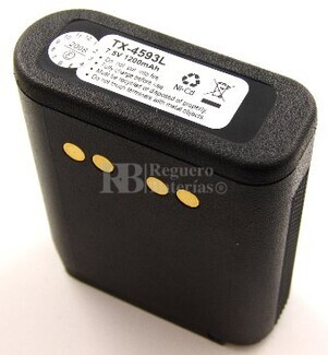 Bateria para MOTOROLA MX1000 NI-CD 1.200 mAh