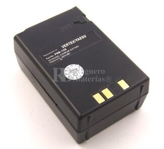 Bateria para YAESU FT23R 33R 411 470 NI-CD 600 mAh 10,3 Volts.