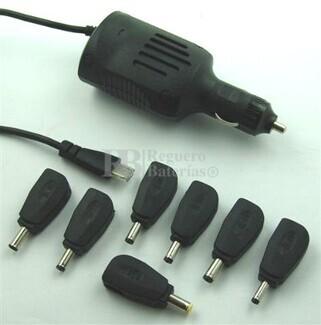 Cargador de vehiculo para MSI Wind U90, Wind U90X, Wind U100, Wind U100X, Wind U115 Hybrid