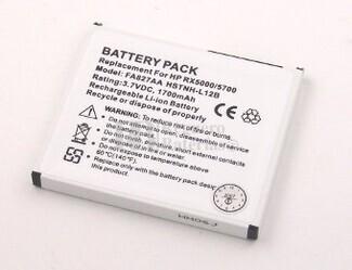 bateria para Pda HP iPAQ rx5965 Serie