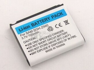 Bateria para SAMSUNG SGH-Z560